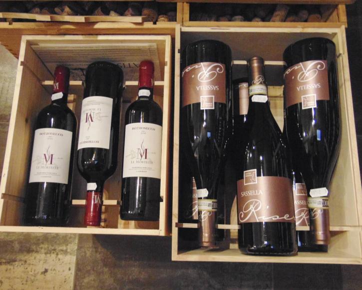 Vino e Co ceste di vino