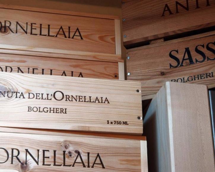 Ornellaia: vini pregiati a Livigno